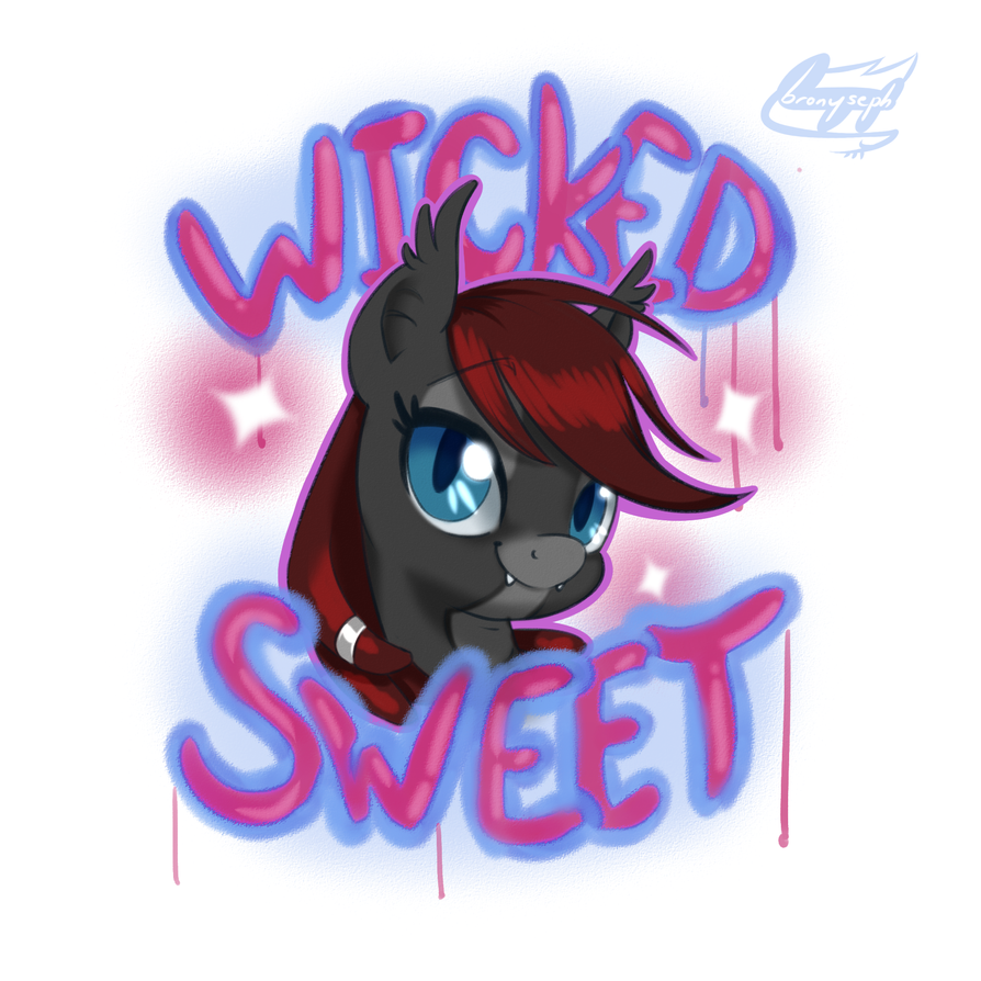 For My Wicked Sweet Gal by bronyseph