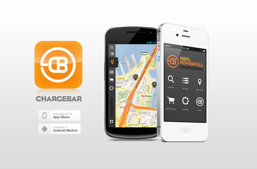 chargebar app GUI design by eEl886