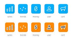 Cool Freebie PSD - Flat Icons