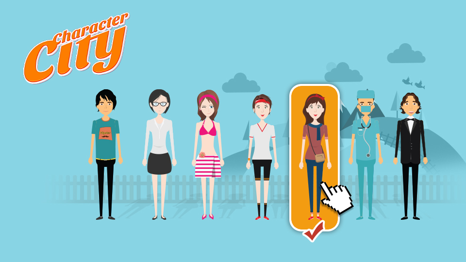 New Template on Videohive - character-city.com by eEl886