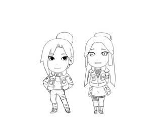 SD Tomoko and Kameyo by anri-ya
