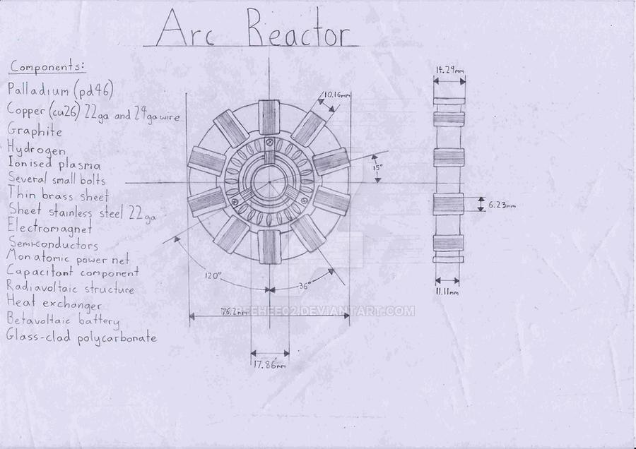 Marvelous Arc Reactor By Beehee02 ...