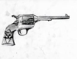 Gun by ravinsilverlock
