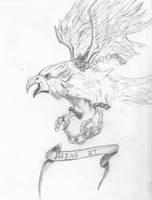 Eagle by ravinsilverlock