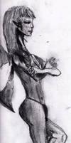 fairy sketch by ravinsilverlock