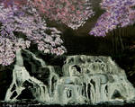 Cherry-blossoms-at-night