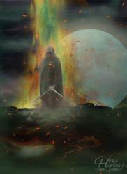 Ethereal Warrior by ravinsilverlock