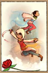 Fan Girl Assassins by SnookieVonPink123