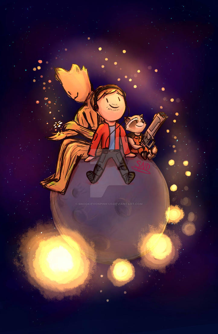 GOTG- The Trio by SnookieVonPink123