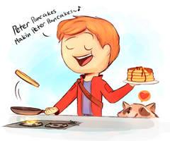 GOTG-Peter Pancakes by SnookieVonPink123