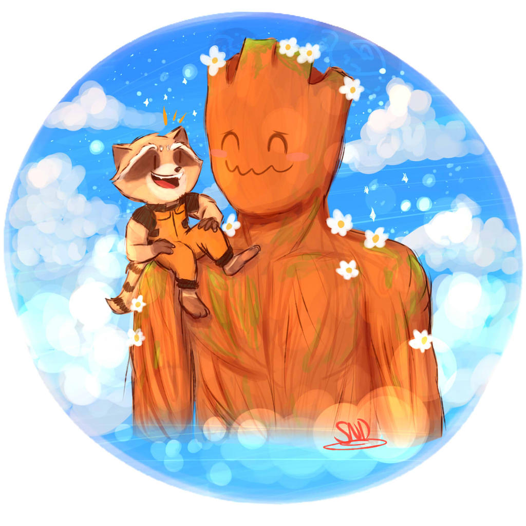 GOTG Request- Buddies by SnookieVonPink123