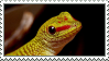 Gecko Stamp by DemonicHalfShell