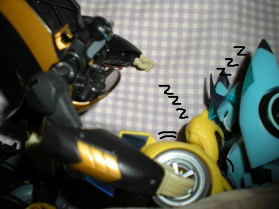 'Wake Up, Bumblebee.' by DemonicHalfShell