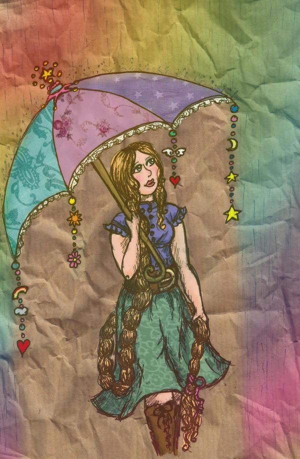 The Wonderful Umbrella by Blue-eyed-Kelpie