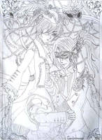Ciel and Sebastian 2 by soulprincess