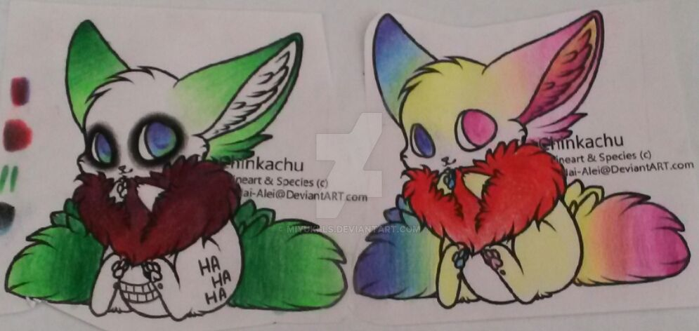 joker and harley quinn themed chinkachus dta by miyuki ls on