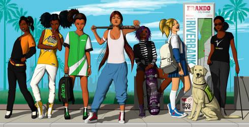 Brocx Layne: Jasmine and the Rascal Six by GLSUoA