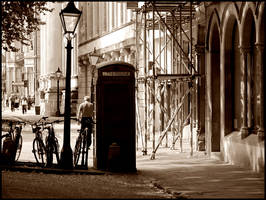 Telephone box by Candyflosser
