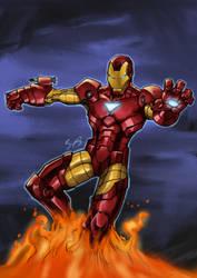invincible Iron Man by ILBox