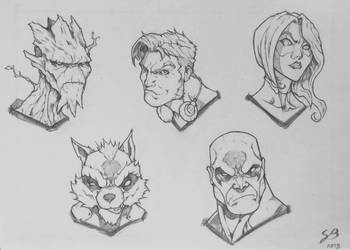 Guardians of The Galaxy by ILBox