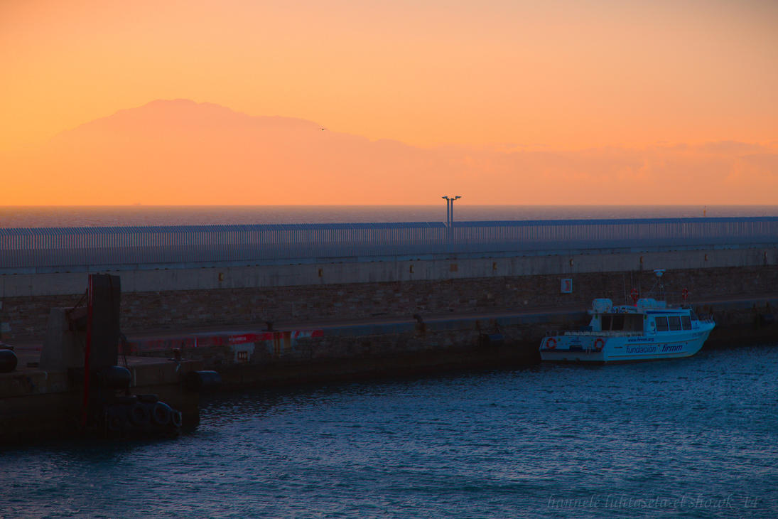 harbour morning by raido-ehwaz
