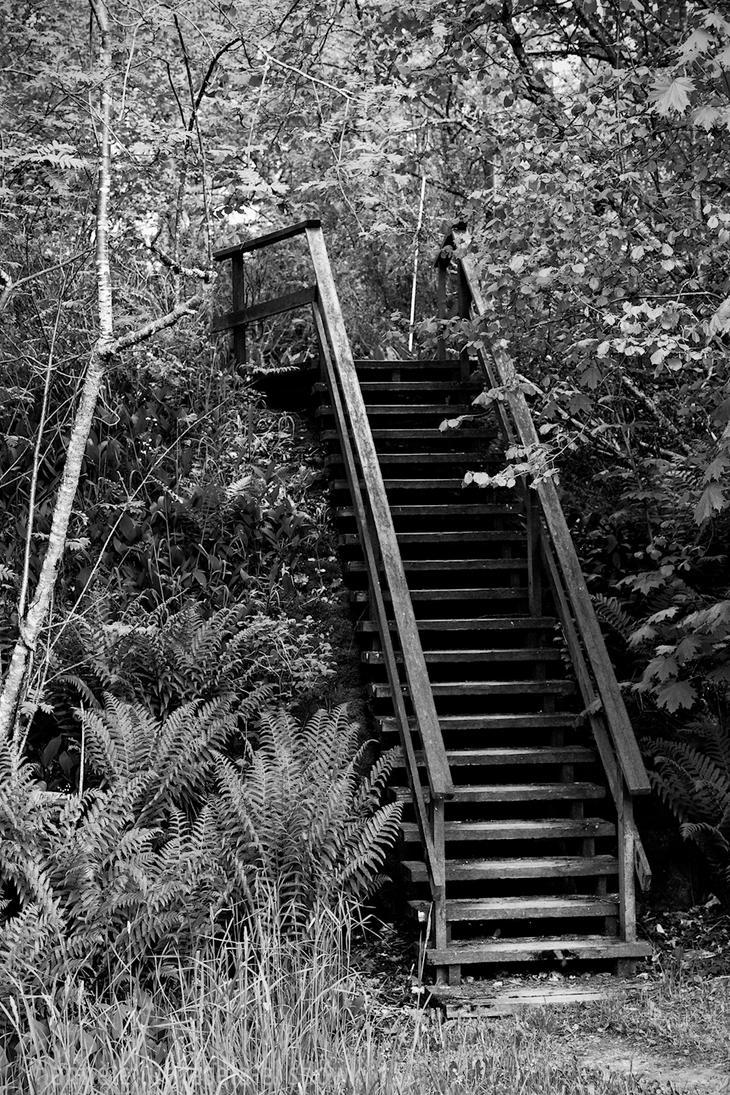 stairs to nowhere by raido-ehwaz
