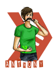 Smosh - Anthony with mustache