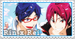 Rin x Rei stamp 4 by GothicShoujo
