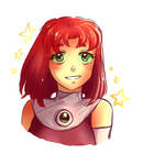Short-haired Starfire~