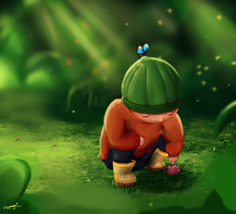 In the Garden by DanielNyR
