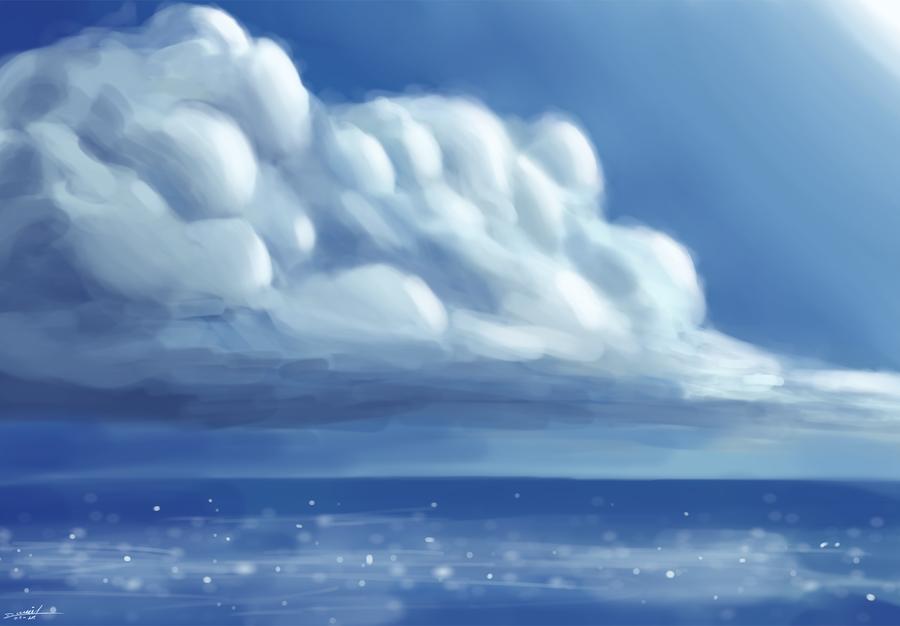 sky and sea by DanielNyR