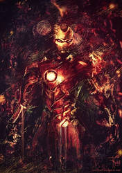 Iron Man by F-Kroll