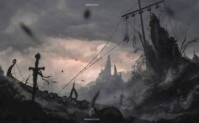 Die in Battle and go to Valhalla