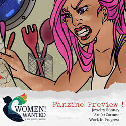 Women! Wanted Zine Preview