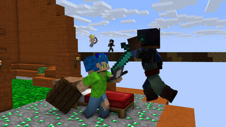Bedwars, Neonicraft style! by Bright-Light-Leader