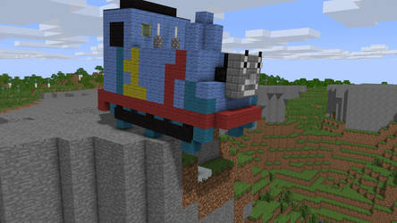 Thomas the Tank Engine is About to Crash!