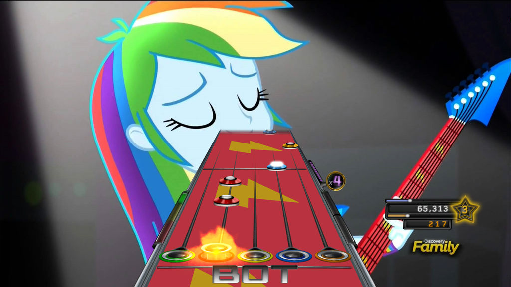 Rainbow Dash EQG:RR Clone Hero Custom by Peachirisu on DeviantArt