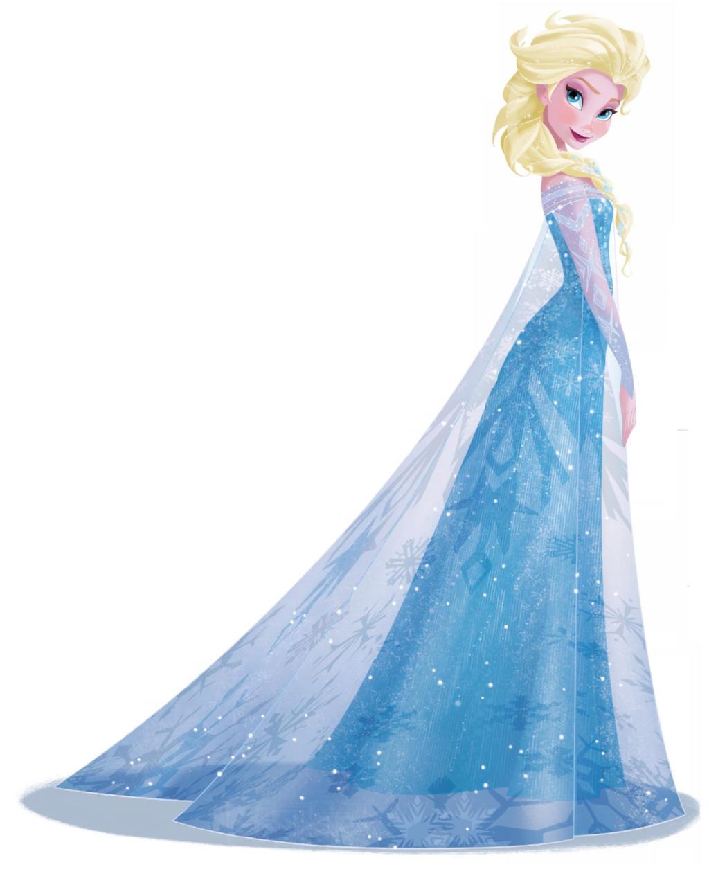 Elsa 2D version by dracarysVG