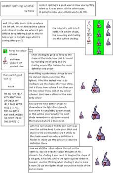 spriting tutorial, part 2