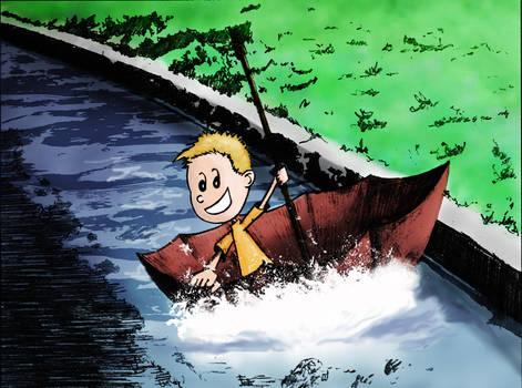 gutter rafting