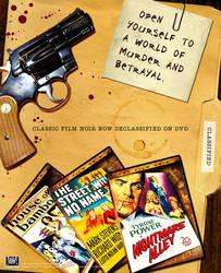 Magazine Ad for Fox Film Noir