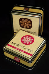 Sandys Sweets packaging