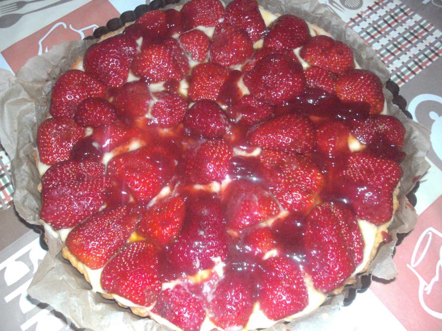 tarte aux fraises maison by sophieekard on deviantart
