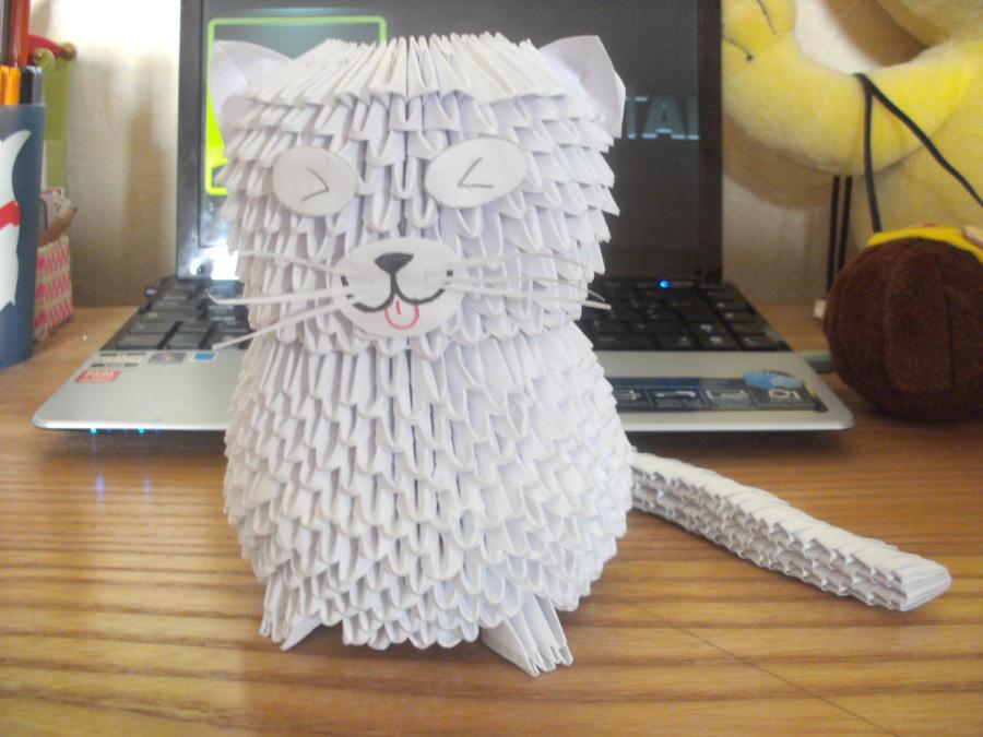Fat White Cat