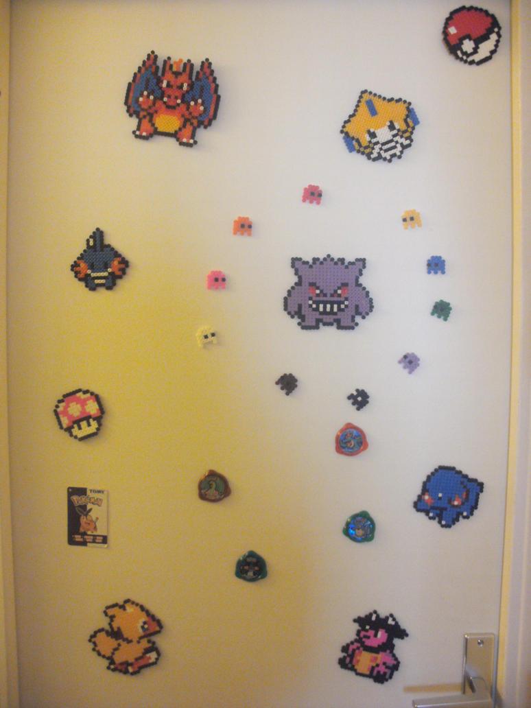 Perler Pokemon by SophieEkard