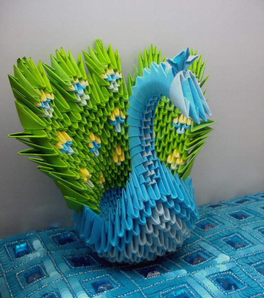 3d Modular Origami Dragon Tutorial