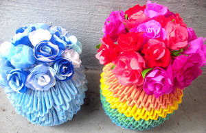 Mother's Day: Crepe Paper Roses