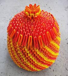 Jewelry Box - 3D origami