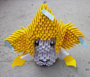 #385 Jirachi - 3D origami