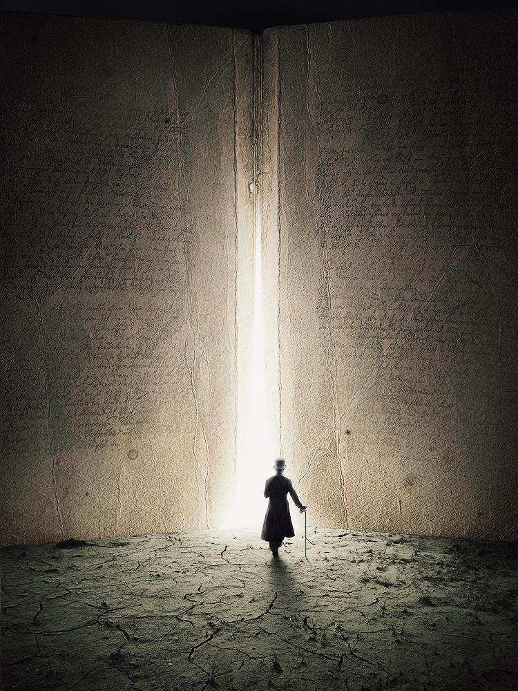 Entrance to wisdom by LafaStudio